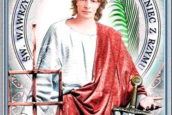 Św. Wawrzyniec, diakon i męczennik