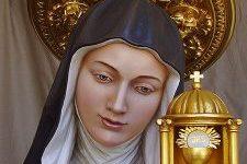 Św. Klara, dziewica