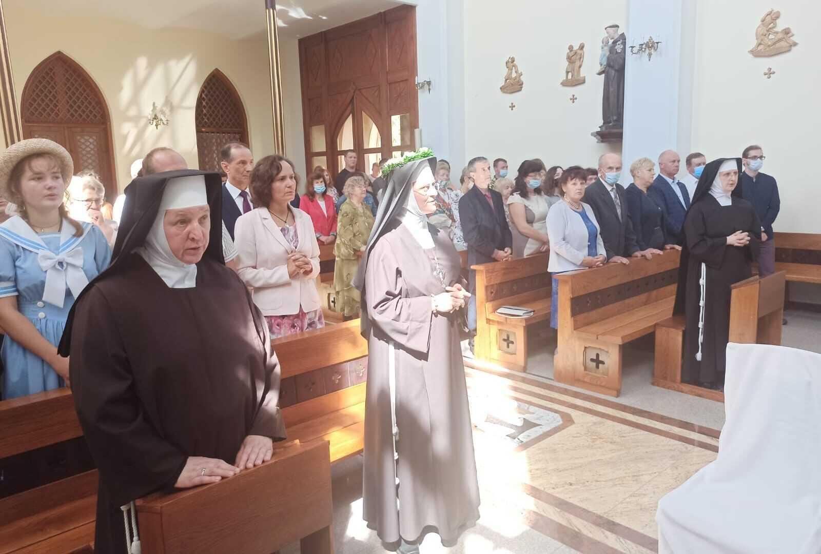 Jubileusz 25 -lat Ślubów Zakonnych Siostry Lucyny