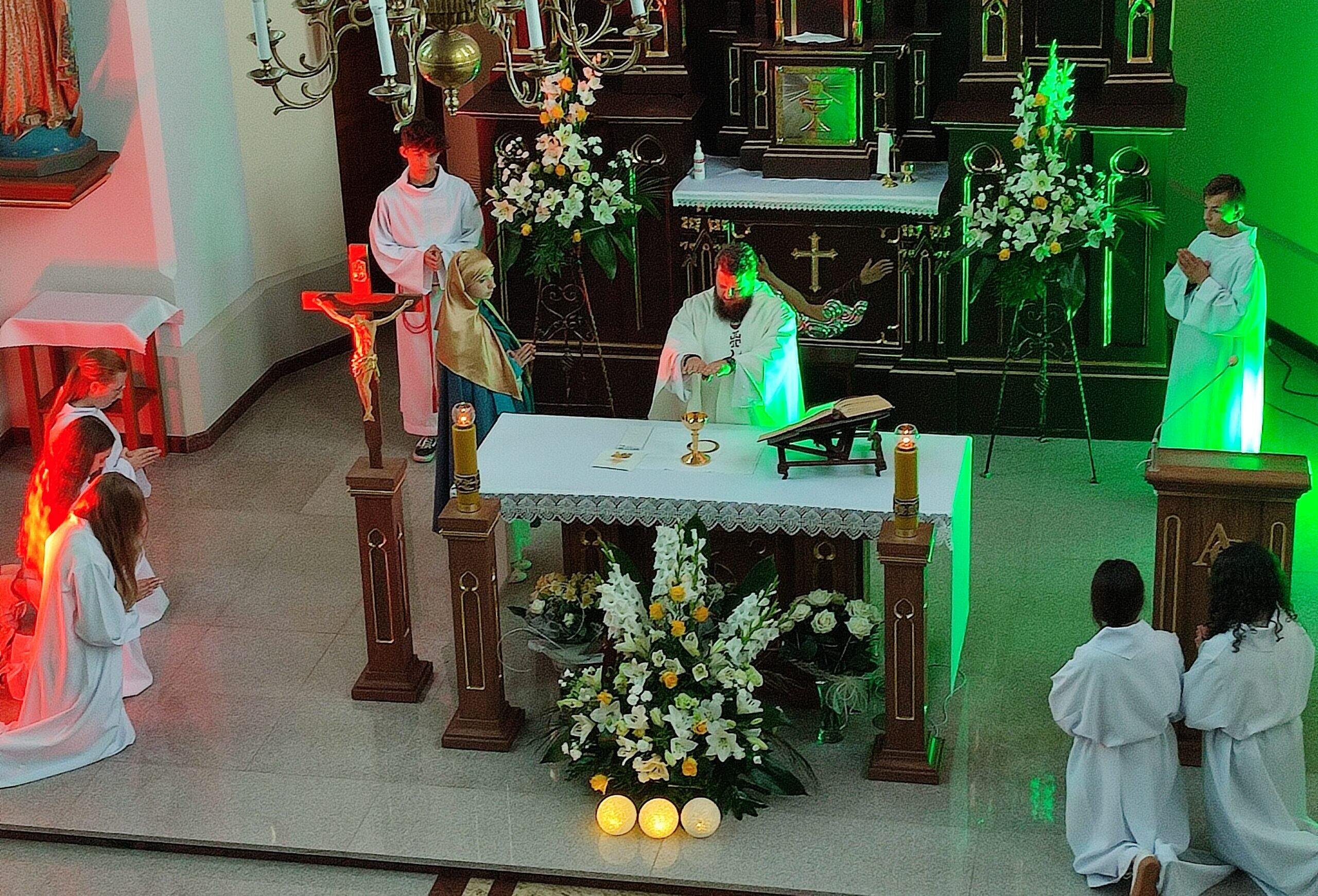 Misterium Eucharystii – w Klasztorze Sióstr Bernardynek